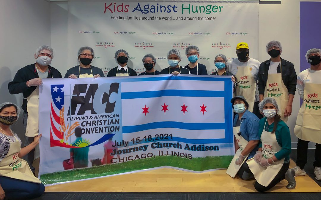 FACC2021 Friends and Members Help Pack Thousands of Meals for COVID Relief
