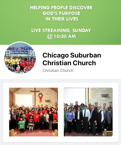 Chicago Suburban Christian Church Worship Band